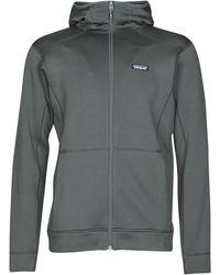 Patagonia M's Crosstrek Hoody Sweat-shirt - Gris