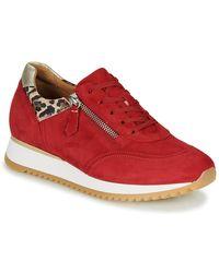 Gabor Sneakers Kaptone - Rood