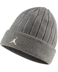 Nike Bonnet Bonnet Cuffed Gris