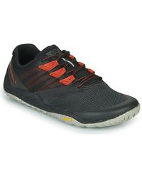 Merrell Lage Sneakers Trail Glove 5 Eco - Zwart