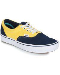 Vans Suede/Canvas ComfyCush Era Sneakers azul