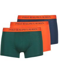 Polo Ralph Lauren Boxers Clssic Trunk 3 Pack Trunk - Blauw