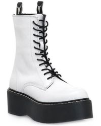 Windsor Smith Zapatos de tacón LENNOX WHITE - Blanco