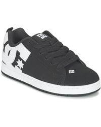 DC Shoes Skateschoenen Court Graffik - Zwart