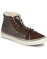 Vans Hoge Sneakers Chukka Slim - Bruin