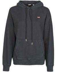 Levi's Sweater Levis Standard Hoodie - Zwart