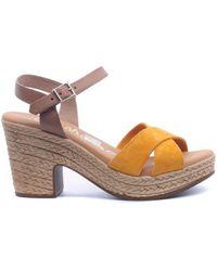 Oh My Sandals Sandalias 4376 - Amarillo