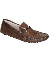 Leonardo Shoes Mocassins 504 Cocco Marrone Pioli - Bruin