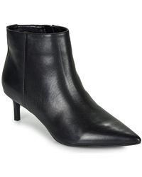 Lauren by Ralph Lauren Enkellaarzen Saybrook-boots-dress - Zwart