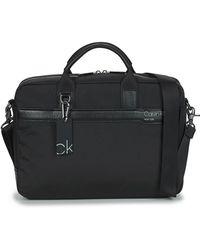 Calvin Klein Aktetas Laptop Bag - Zwart