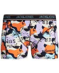 Jack & Jones Jack Jones Boxer Boxer Summer paper - Naranja