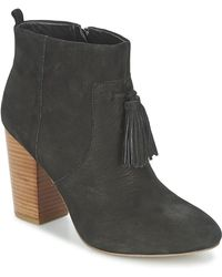 French Connection - Linds Women's Low Ankle Boots In Black - Lyst
