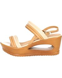 Zamagni - 842 Sandal Women Beige Women's Sandals In Beige - Lyst