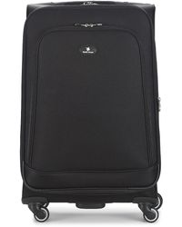 David Jones Verlude 80l Soft Suitcase - Black