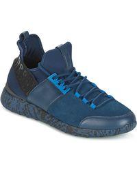 Bikkembergs Lage Sneakers Striker 962 - Blauw