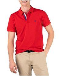 El Ganso Polo Pique short sleeve - Rojo