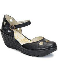 Fly London Zapatos de tacón YUNA - Negro