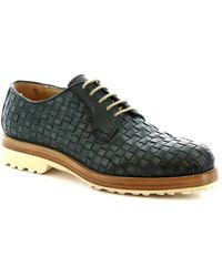 Leonardo Shoes 1010_1 PE VITELLO VERD Chaussures - Vert