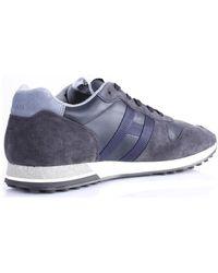 Hogan Lage Sneakers Hxm4820an51lwc - Blauw