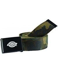 Dickies Orcutt Webbing Belt Belt - Green