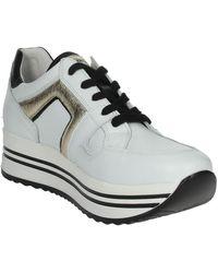 Nero Giardini Hoge Sneakers I013303d - Wit