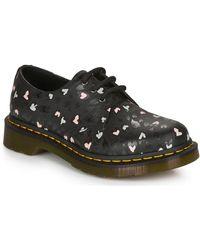 Dr. Martens 1461 HEARTS Chaussures - Noir