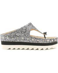 Luca Stefani - 580330 Flip Flops Women Grafite Women's Flip Flops / Sandals (shoes) In Grey - Lyst