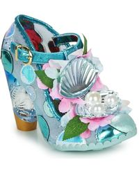 Irregular Choice Pumps Seafoam Queen - Blauw