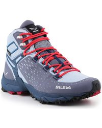 Salewa Trekking Shoes Ws Alpenrose Ultra Mid Gtx 64417-0458 Walking Boots - Blue