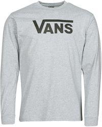 Vans Camiseta manga larga CLASSIC LS - Gris