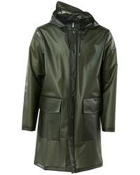 Rains Blazer Hooded Coat - Groen