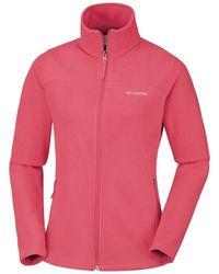 Columbia Fast Trek Light Fleece Jacket - Pink