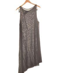 Sarah Pacini Robe Mi-longue 42 - T4 - L/xl Robe - Noir