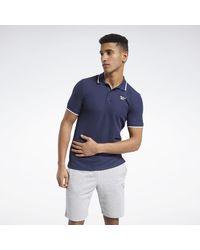 Reebok Polo Training Essentials T-shirt - Bleu