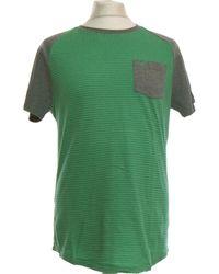 Hollister T-shirt Manches Courtes 38 - T2 - M T-shirt - Vert