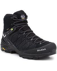 Salewa MS Alp Trainer 2 Mid GTX 61382-0971 Chaussures - Noir