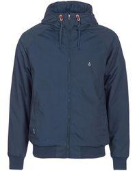 Volcom - Hernan Jkt Men's Jacket In Blue - Lyst