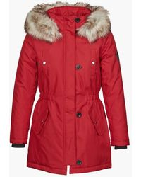 ONLY Parka Onliris - Rosso