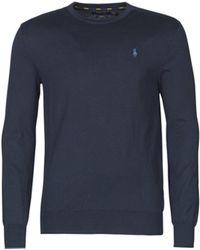 Polo Ralph Lauren Slim Fit Pullover aus Pima-Baumwolle - Blau