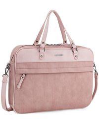Lois Capshaw Briefcase - Pink
