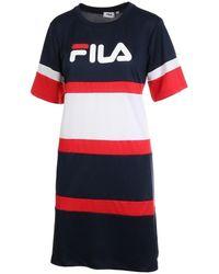 Fila TERHIKKA TEE DRESS - A-LINE FIT Robe - Multicolore