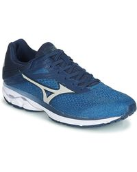 Mizuno Wave Rider 23 Running Trainers - Blue