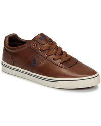 Polo Ralph Lauren Lage Sneakers Hanford - Bruin