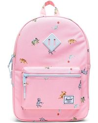 Herschel Supply Co. Heritage Youth Candy Pink Circus Animals garcons Sac à dos - Rose