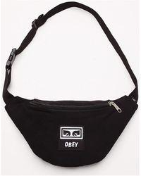 Obey Wasted Hip Bag Hip Bag - Black