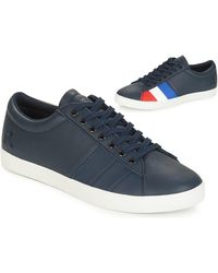 Le Coq Sportif - Lage Sneakers Flag - Lyst