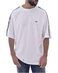 Armani Camiseta 211840 1P475 - Hombres - Blanco