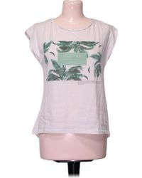 Pull&Bear Top manches courtes - S T-shirt - Blanc