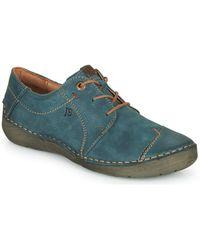 Josef Seibel Fergey 20 Casual Shoes - Blue