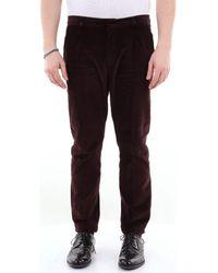 26.7 Twentysixseven PINCELISCIO Pantalons de costume - Marron